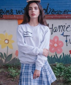 Nothing Lasts Forever Sweater