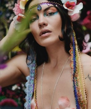 Rainbow Long Headdress