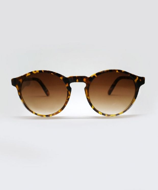 HAVILLAND Round Sunglasses - Tortoise Shell