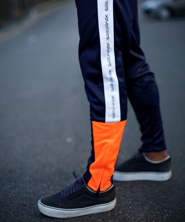 UXR Poly Tracksuit Bottoms - Navy Blue