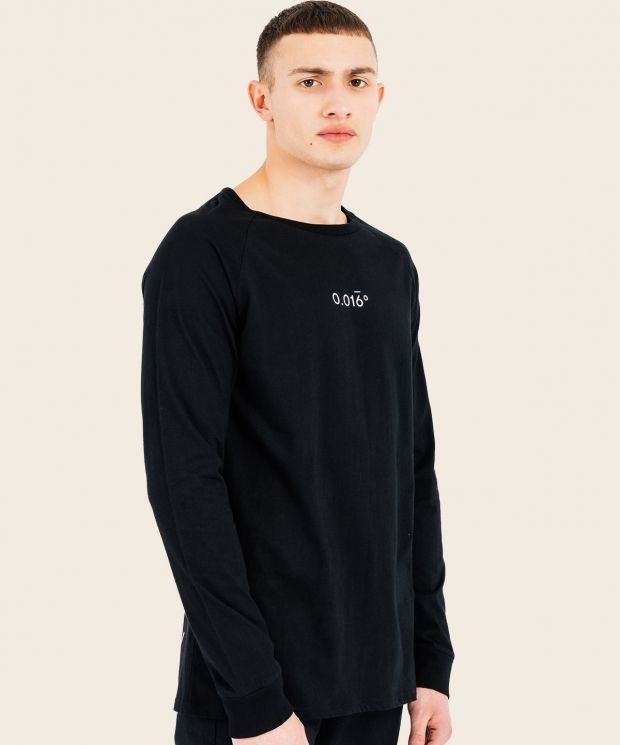 Equation Long Sleeve T-Shirt Black With Arcminute Logo