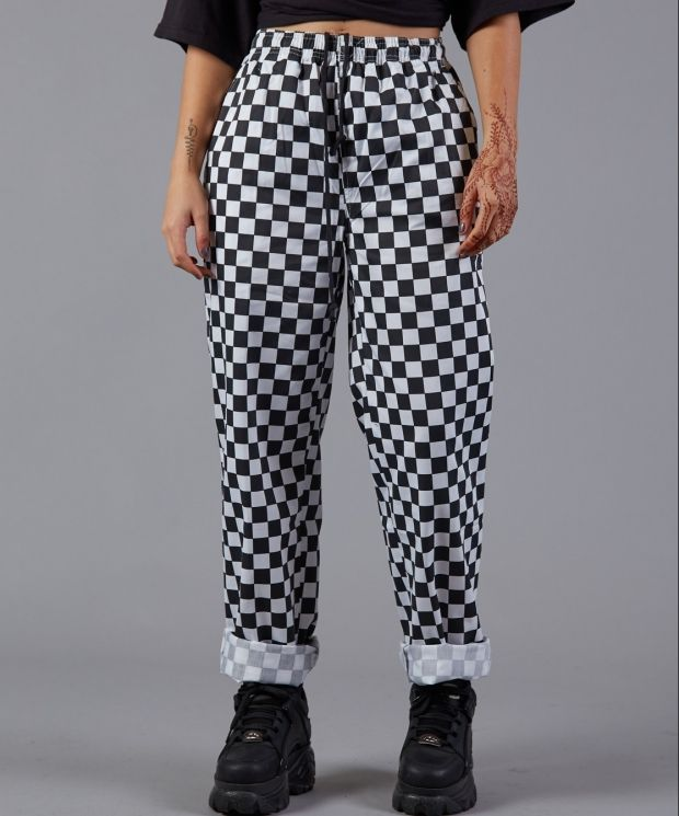 Checkered Chef Trousers
