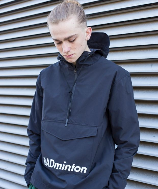 Demos Black badminton Windbreaker Waterproof Jacket