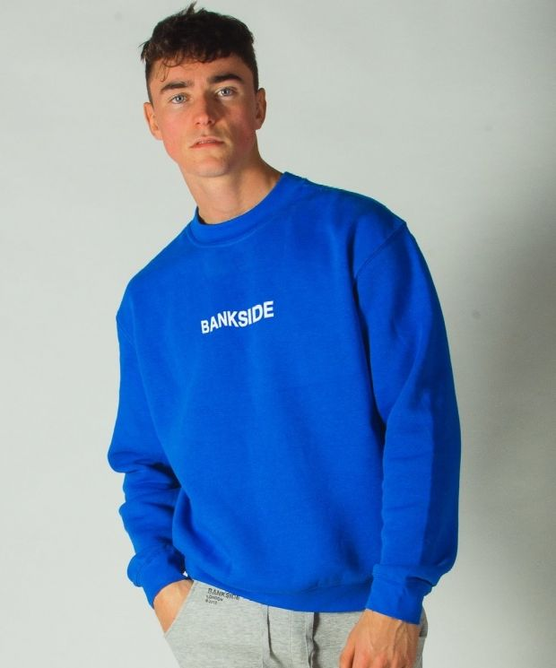 Wavy Sweatshirt Blue