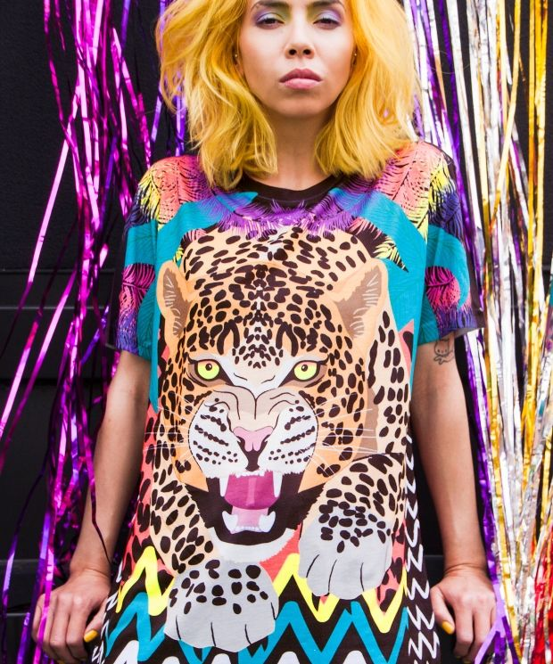 On the Prowl Leopard T-Shirt