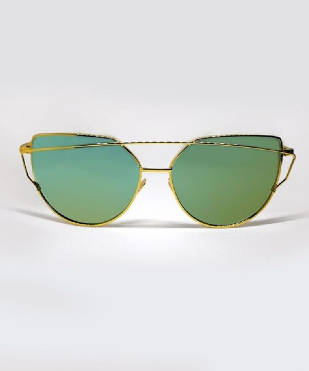 BERGMAN Cat Eye Sunglasses - Gold