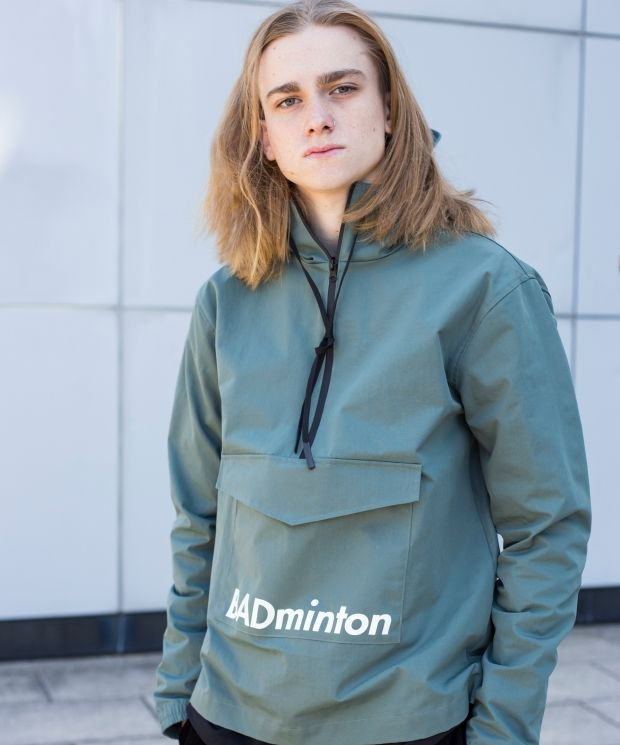 Demos Green badminton Windbreaker Waterproof Jacket