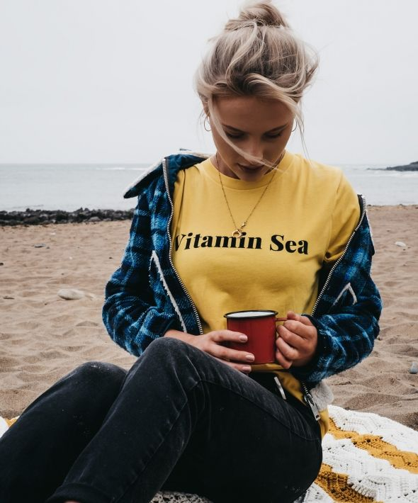 Vitamin Sea Yellow T-Shirt