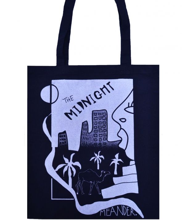 Midnight Meander Tote Bag