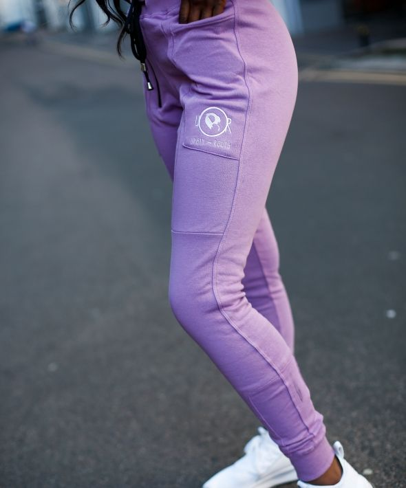 UXR Fitted Joggers - Lilac
