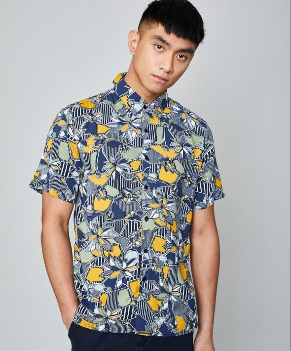 The Geo Florals Shirt