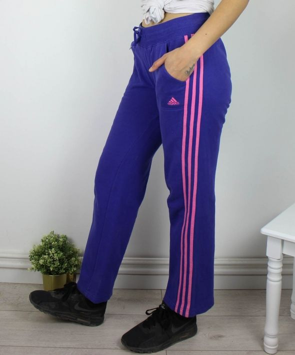 Vintage Adidas Joggers Sweatpants with Logo & 3 Stripes