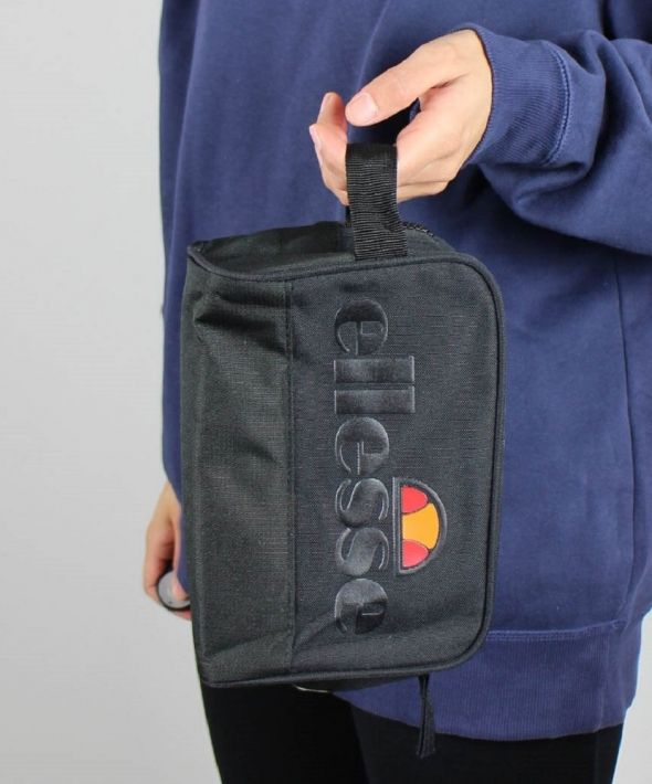 Ellesse Washbag Clutch Handbag w Statement Logo