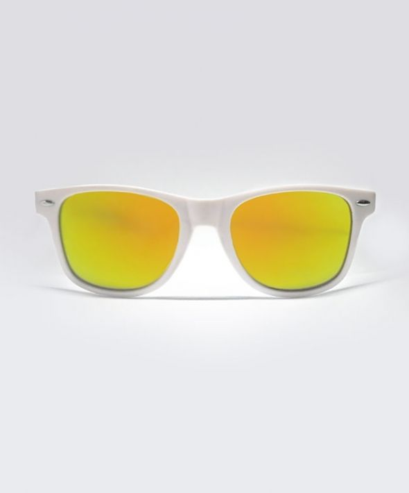 KRAVITZ wayfarer Sunglasses - White/Gold