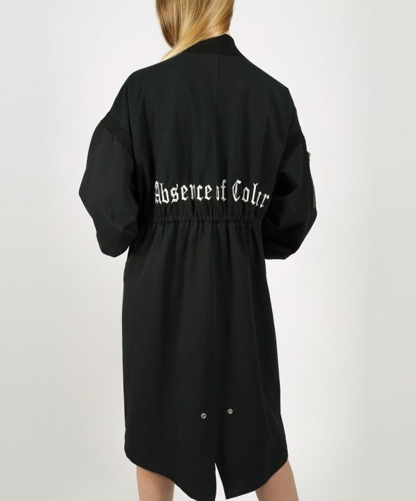 Absence of Colour Logo Jacket