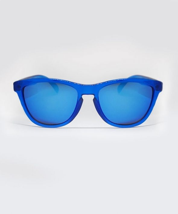 ZANDER Clear Sunglasses - Blue