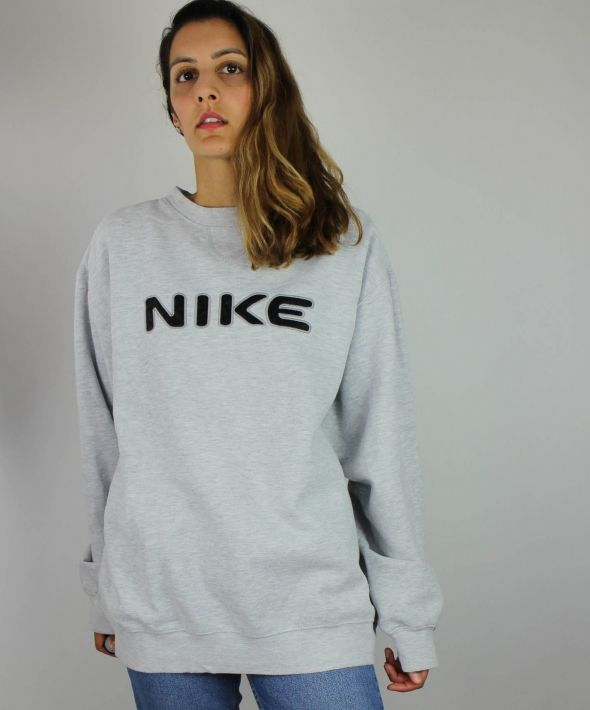 Vintage Nike Sweatshirt with Spell Out Front & Tick Back  4370171