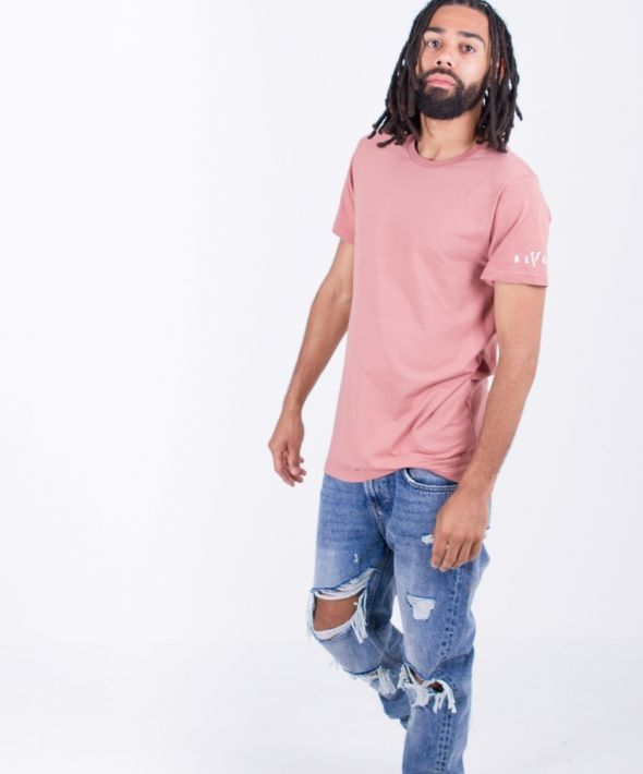 Salmon Slim Fit Tee