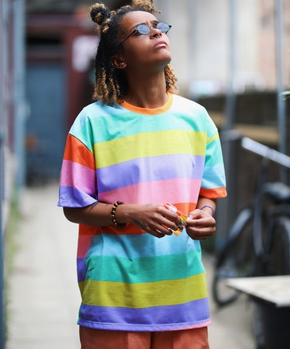 Graphic Candy Rainbow T-Shirt