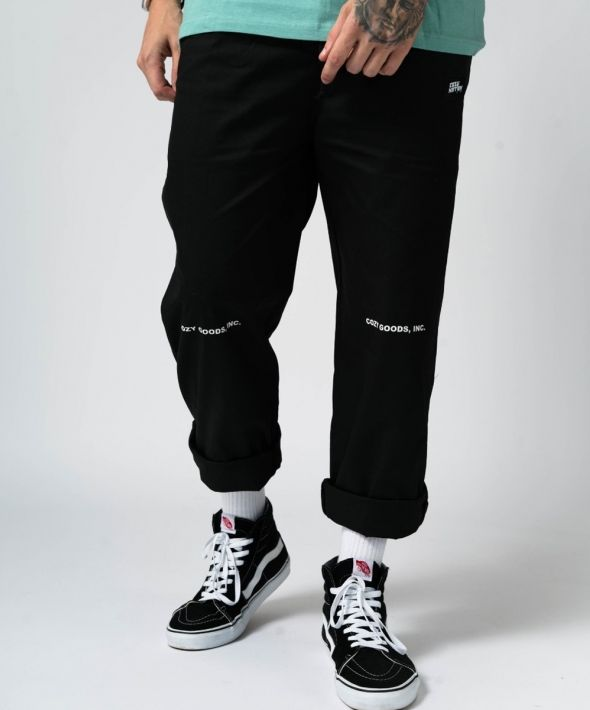 Black Cozy Goods Chef Trousers