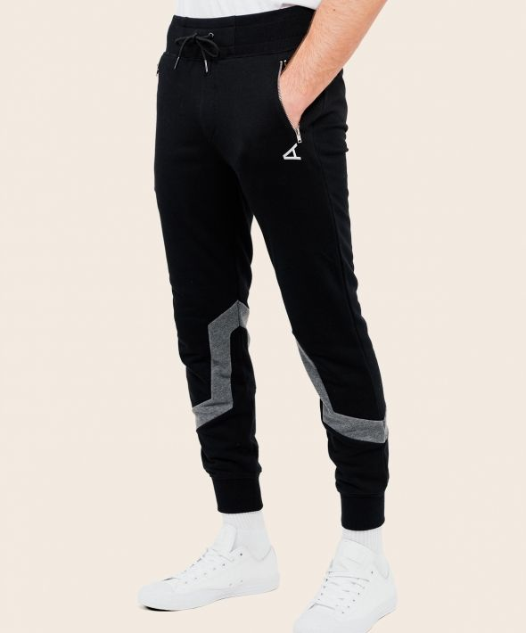 Stargazer Joggers Black With Arcminute Logo