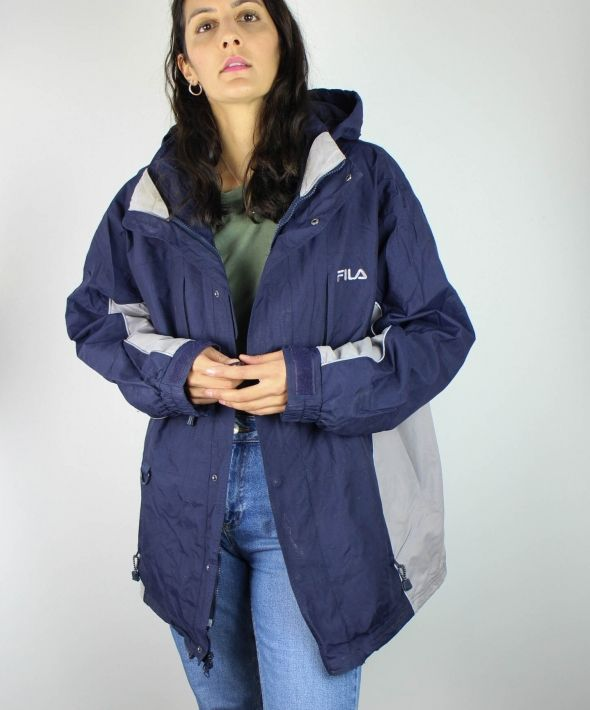 Vintage Fila Jacket with Logo Front
