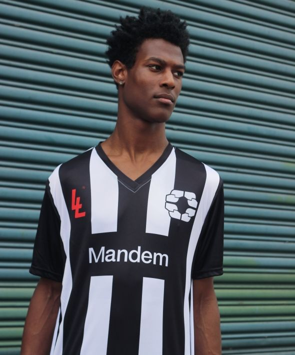 Mandem Football Jersey Short Sleeve