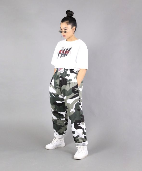 Camo Camouflage army sweatpants  trousers  joggers
