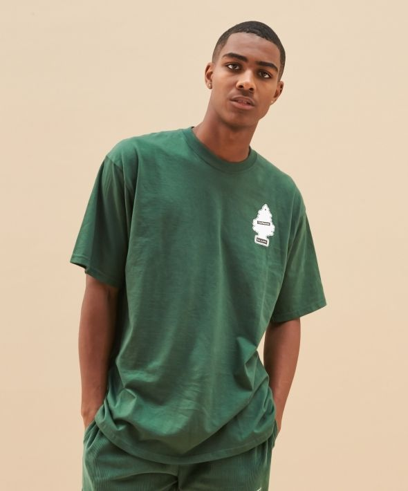 Green Fresh To Death Oversized T-Shirt