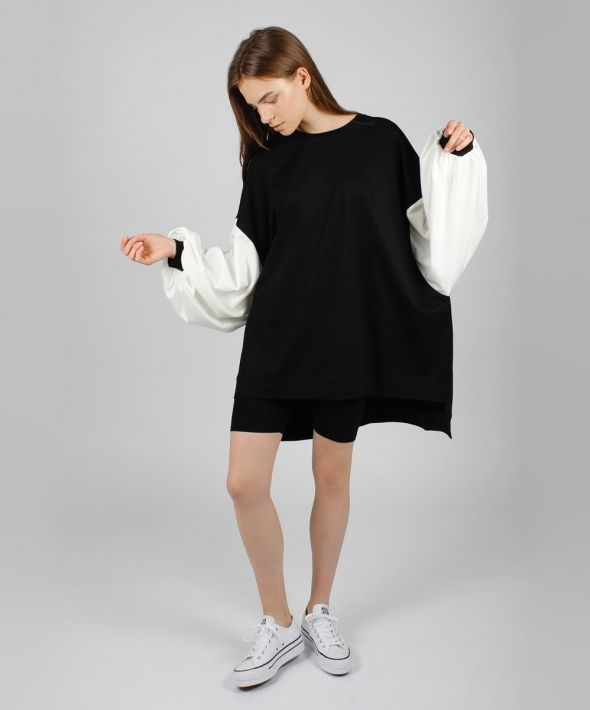 Bubble Sleeve Jumper