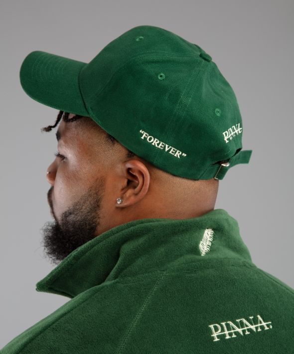 """PINNA """"Forever"""" Cap - Forest Green"""