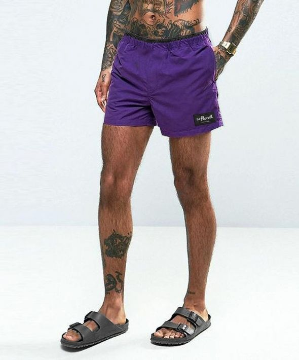 Trim Swim Shorts - Purple