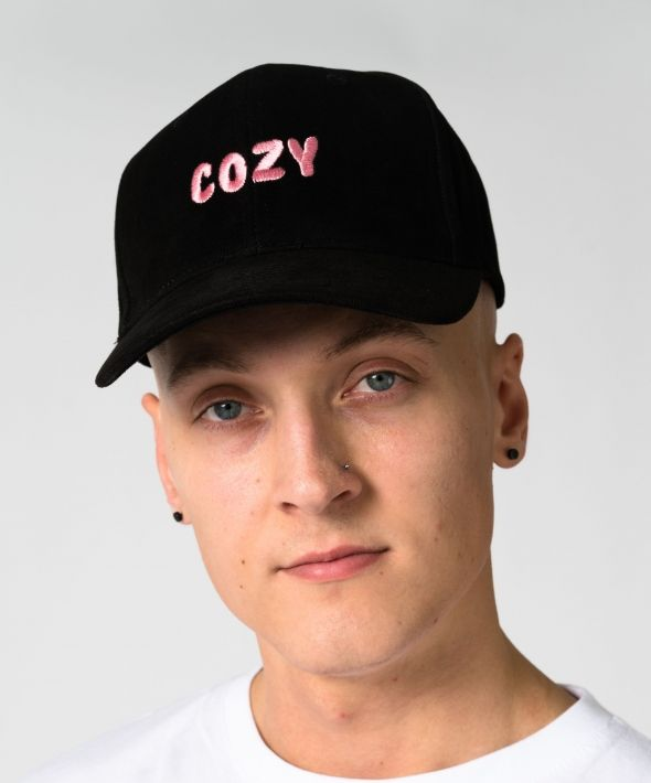 Black Cozy Cap