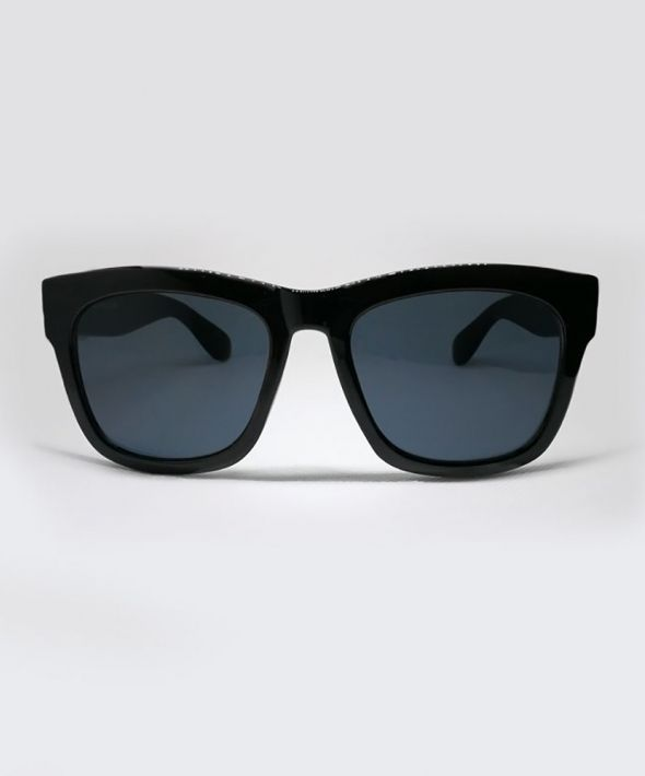 FONDA Thick Sunglasses - Black
