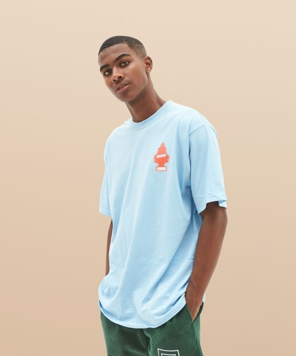 Baby Blue Fresh To Death Oversized T-Shirt