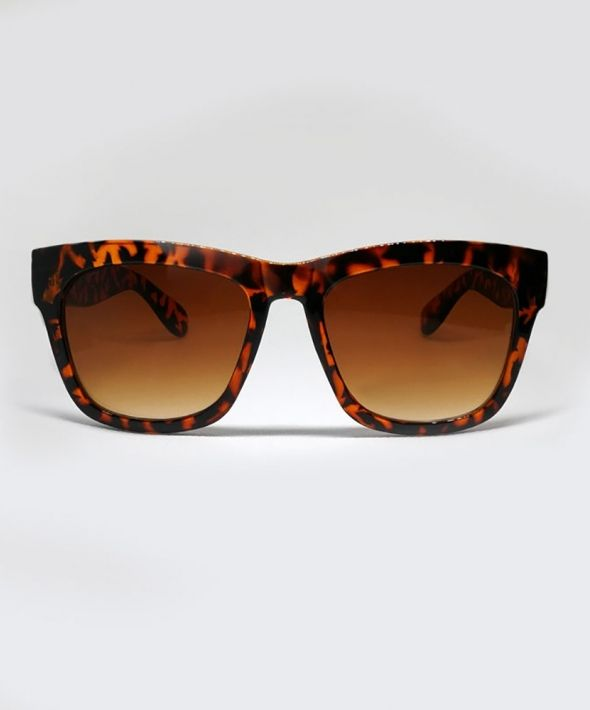 FONDA Thick Sunglasses - Tortoise Shell