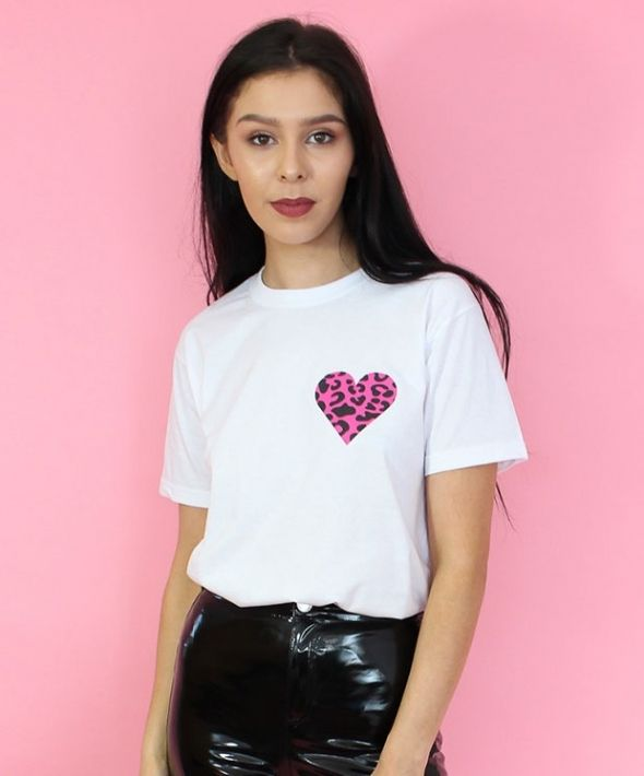 Wild Heart White T-shirt