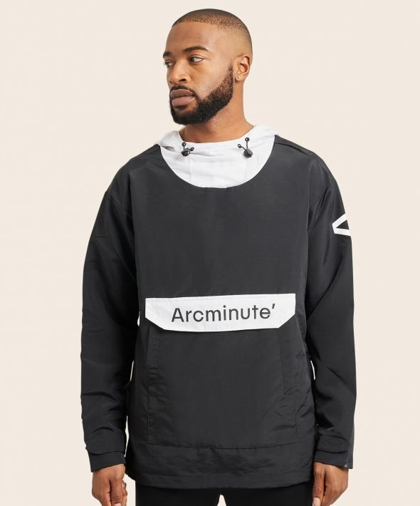 Arcminute Windbreaker Black