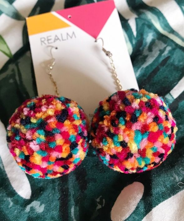 Gobstopper Pompom Earrings