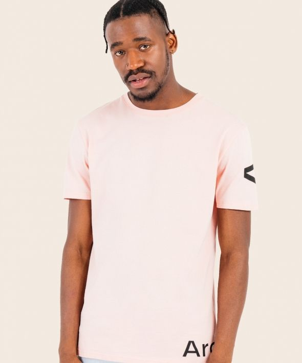 Opaque T-Shirt Pink With Arcminute Logo