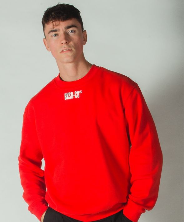 Red BKSD Sweatshirt