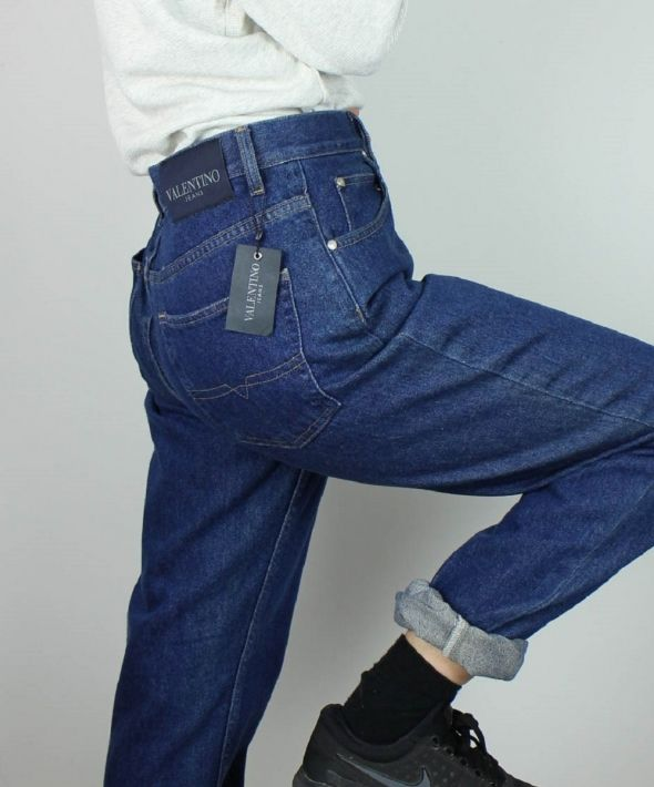 Vintage Valentino Jeans with Logo Back & Tag