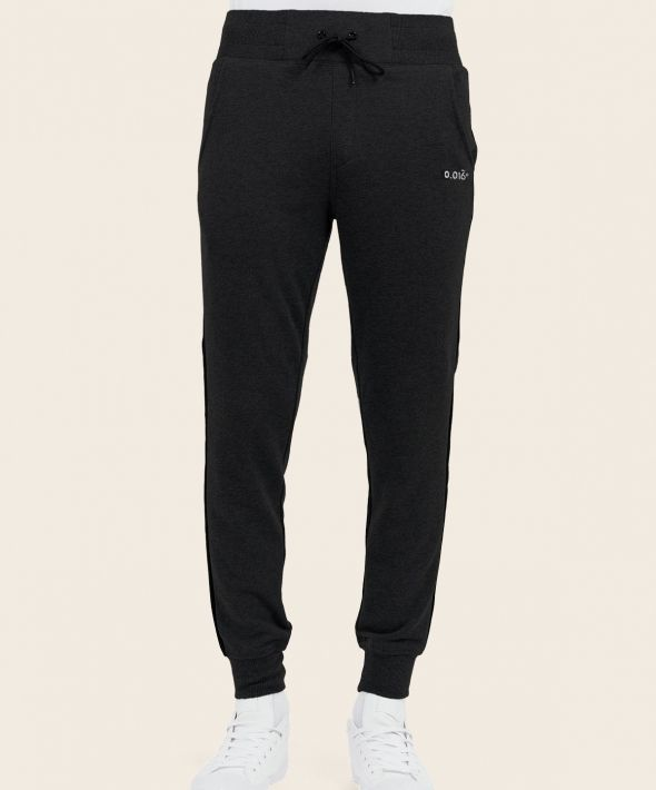 Statement Joggers Black With Arcminute Logo