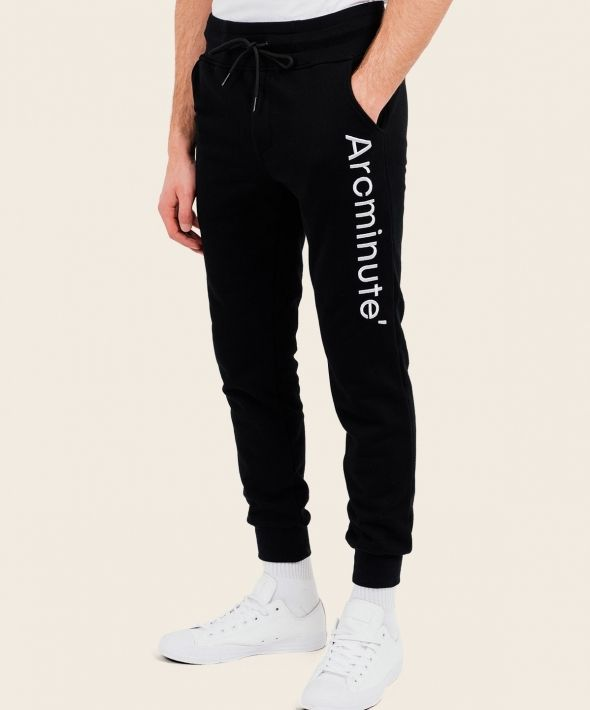 Clarity Joggers Black With Arcminute Logo
