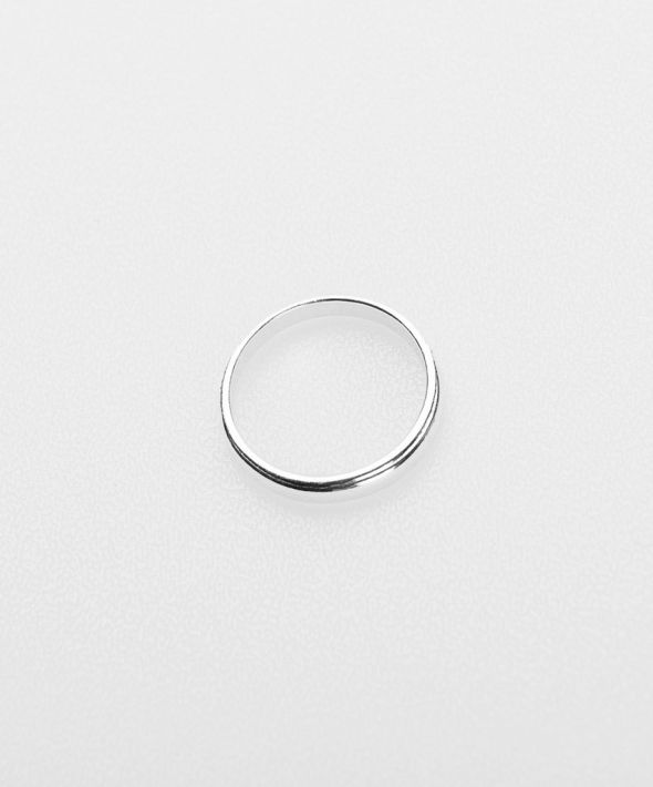 Keena 925 Sterling Silver Ring - Silver