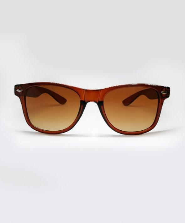 KRAVITZ Wayfarer Sunglasses - Brown