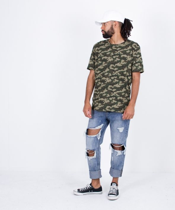 Jungle Camo Green Tee
