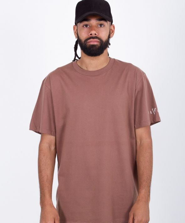 Classic Fit Mocha Brown Tee