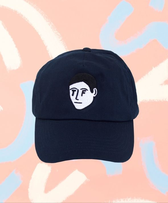 Terra Firma Collaboration Navy Cap