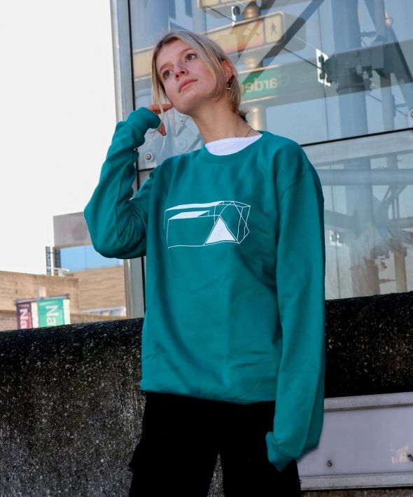 Jade Building Blocks Sweatshirt
